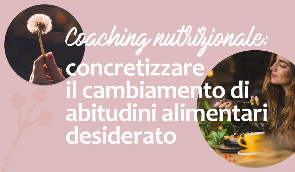 cos e il coaching nutrizionale
